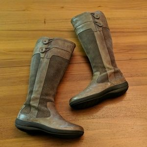 Clarks Privo Knee High Boots